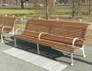 Fairmount Park - Benches for a historic park