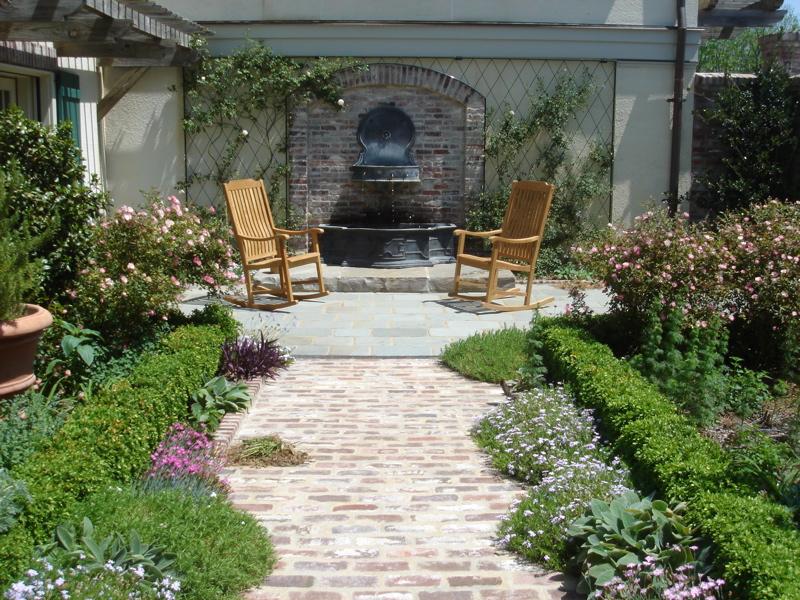 wall-fountain-in-a-quaint-courtyard-in-little-rock-ak.jpg