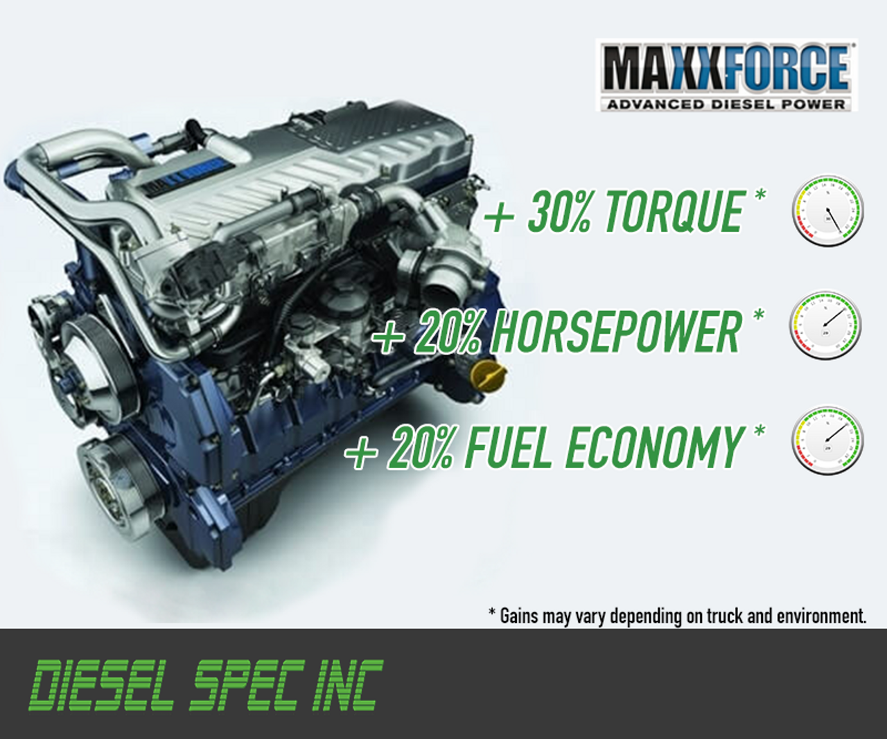 MaxxForce 15 Emissions Removal Package