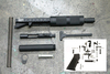 "Surplusammo.com 5.56 8"" 1:7 Nitride Carbine Length Free Float Tube Dragon's Head Upper Receiver,  LPK, & Tube Kit - PISTOL Kit Less Lower Receiver (1508SH9NC11CFTKIT)"
