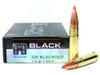Surplusammo.com | Surplus Ammo 300 AAC Blackout 110 Grain V-MAX Hornady Black Ammunition - 20 Rounds HO80873