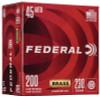 45 ACP 230 Grain FMJ Federal Champion Training WM52332 - 200 Rounds FDWM52332