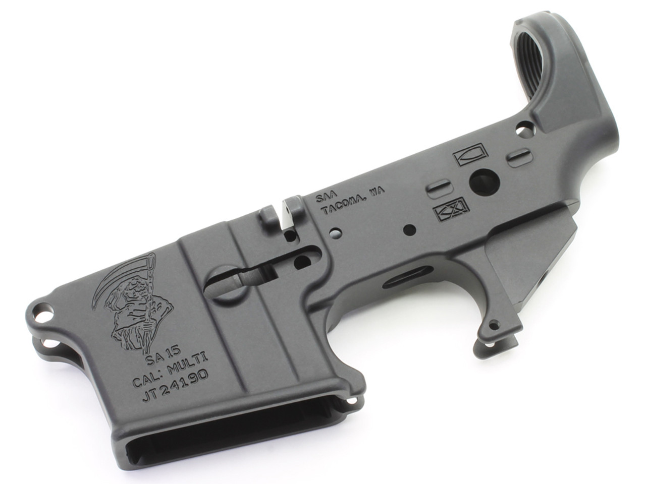 Surplus Ammo and Arms Grim Reaper AR-15 Lower Receiver LOW16