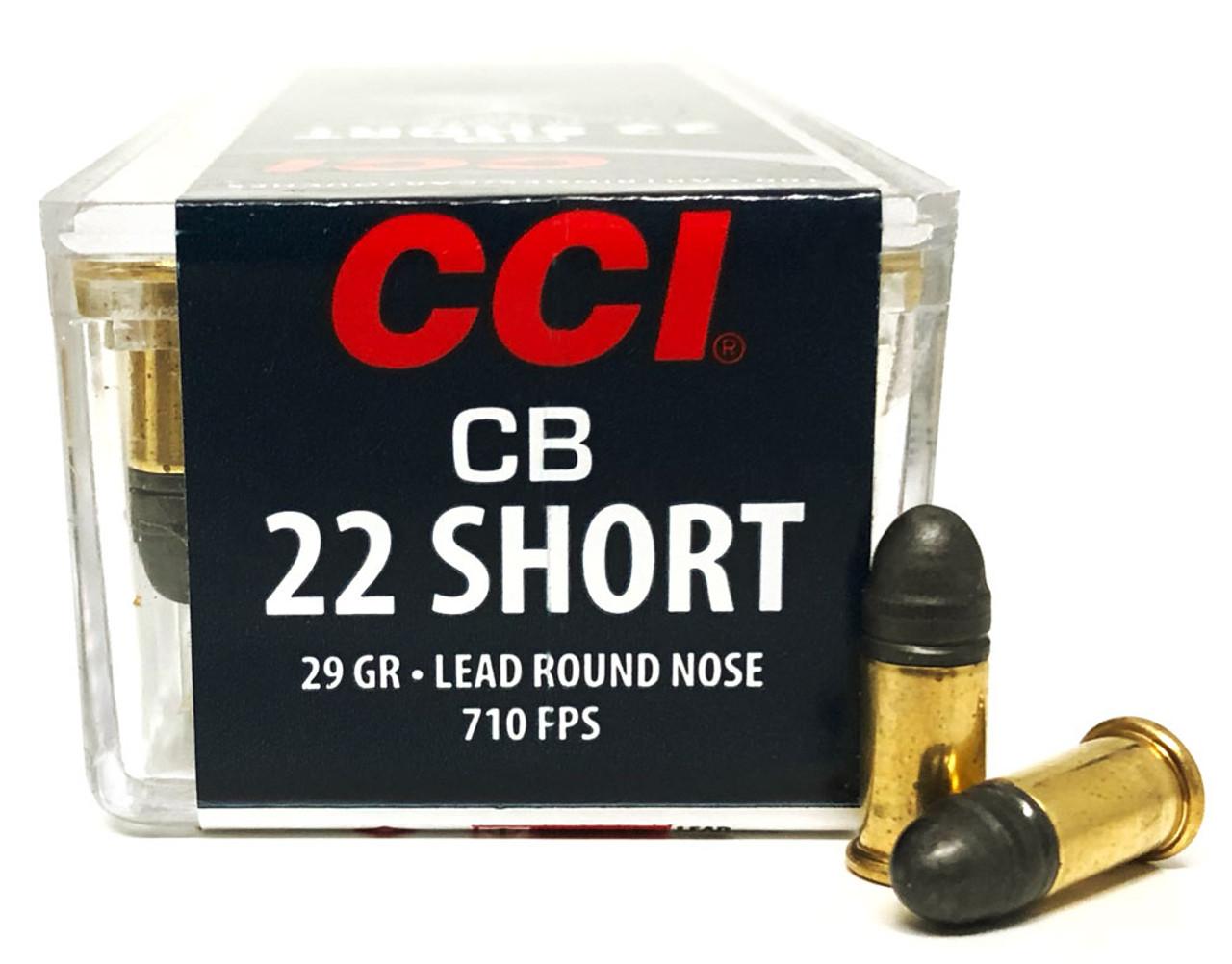 Cci 22 Short 29 Grain Cb Sub Sonic Lead Round Nose