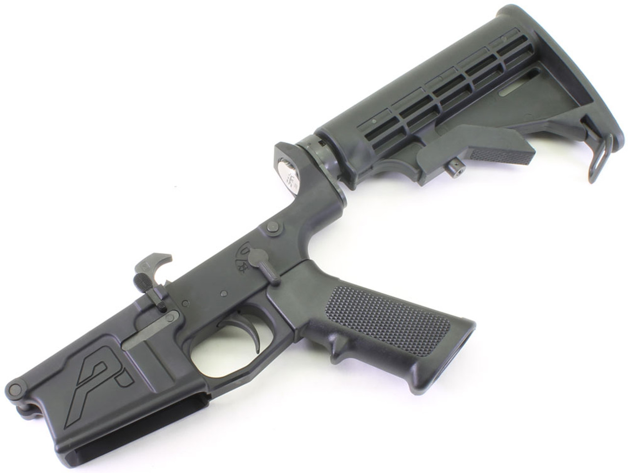 Aero Precision  308 M5 Complete Lower Receiver with M4 Collapsing Stock -  DPMS Cut