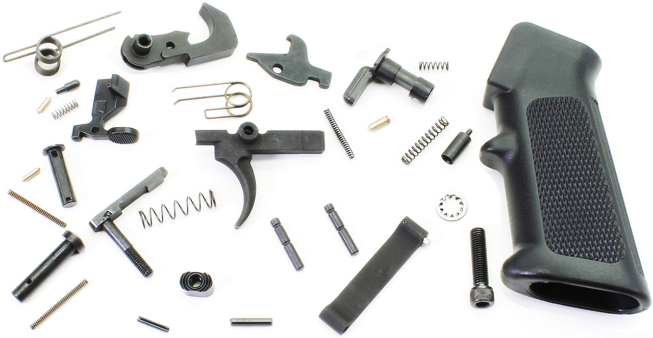 DPMS AR-15 Complete Lower Receiver Parts Kit - 3 Pack
