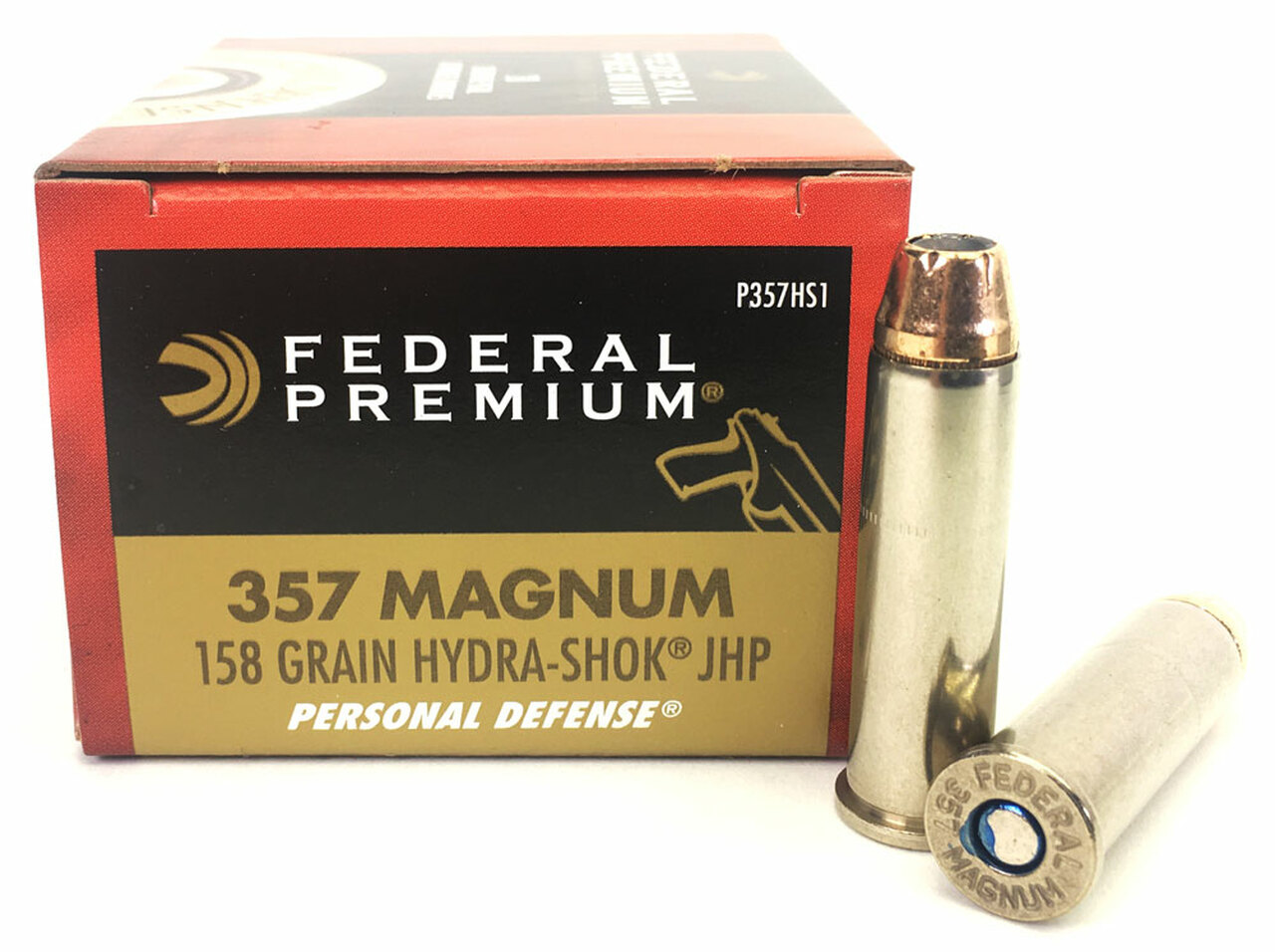 federal tactical hydra shok ammo 357 mag