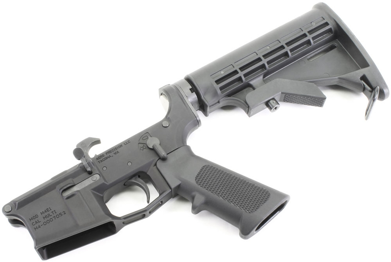 Aero Precision M4E1 Complete AR15 Lower with M4 Collapsing Stock
