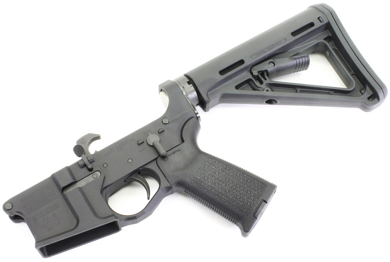 SOTA   Patriot PA 15 Billet AR15 Complete Lower With Magpul MOE Furniture  SOTA PA15