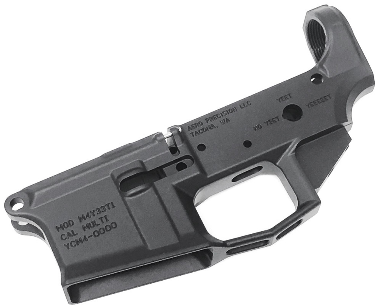 Aero Precision M4e1 Stripped Ar15 Lower Receiver Yeet Cannon For Sale In Stock Surplus Ammo Responding to the demand for them to yeet up, they are releasing a yeet cannon g1 version of. aero precision m4e1 yeet cannon stripped ar15 lower receiver