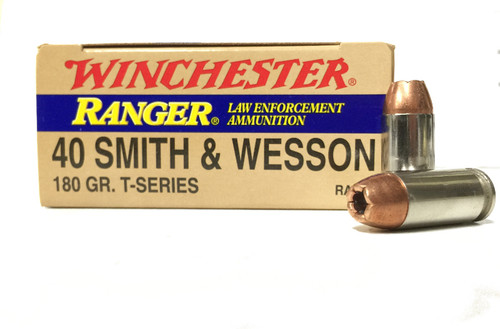 Surplus Ammo 40 S&W 180 Grain T-Series Winchester Ranger