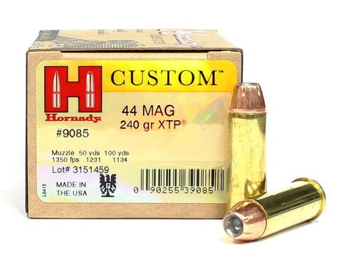 Surplus Ammo | Surplusammo.com 44 Magnum 240 Grain XTP Custom Hornady Ammunition