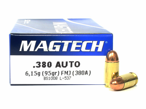 Surplus Ammo | Surplusammo.com 380 Auto 95 Grain FMC Magtech Ammunition