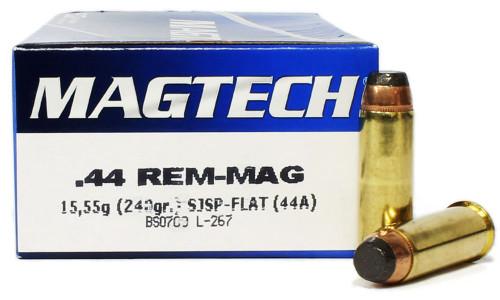 44 Magnum 240 Grain SJSP Magtech 44A