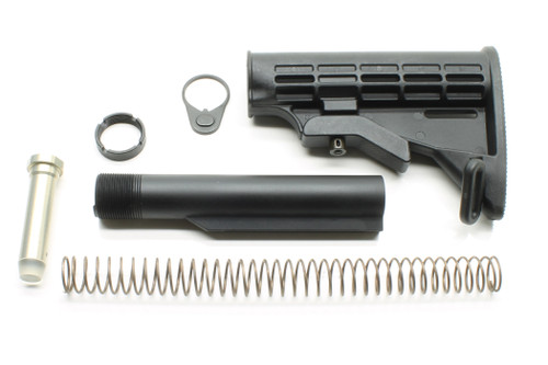 SAA AR15 Carbine Collapsing M4 Stock Assembly - 6-Position Mil-Spec Size SAALP34