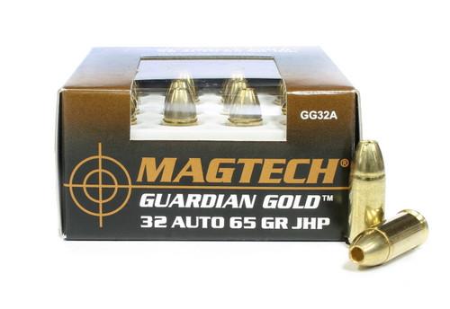 32 Auto 65 Grain JHP Magtech Guardian Gold GG32A