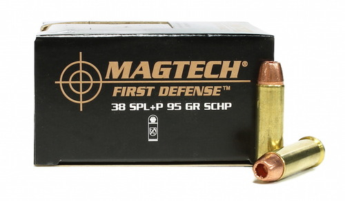 38 Special  95 Grain SCHP +P Magtech First Defense - 20 Rounds