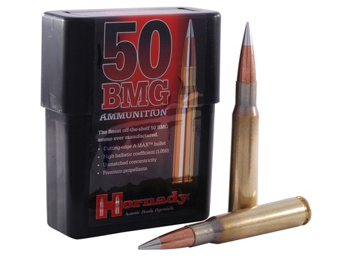 Surplus Ammo | Surplusammo.com 50 BMG 750 Grain A-Max Hornady Match