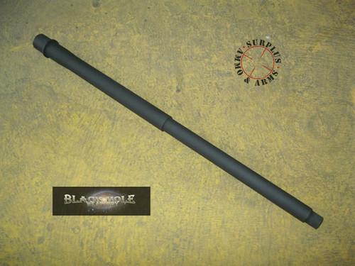"Black Hole Weaponry AR-15 Barrel 18"" mid length gas system Stainless Steel finish 6.5 Grendel caliber 1:9 barrel twist Pologonal rifling surplusammo.com"