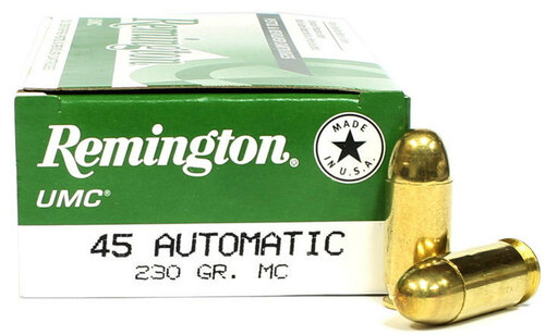 45 ACP 230 Grain MC (FMJ) Remington UMC RM23726 / L45AP4
