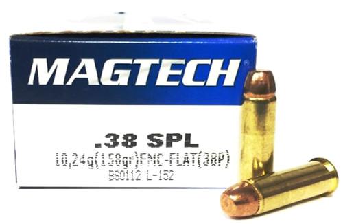 38 Special 158 Grain FMC Magtech 38P