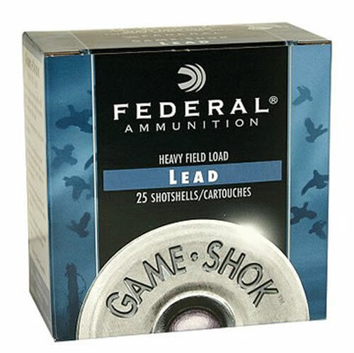 """12 Gauge Federal Game Load 2 3/4"""" #7.5 Lead Shot 1 oz H121 7.5 - 25 Rounds FDH121 7.5-25"""