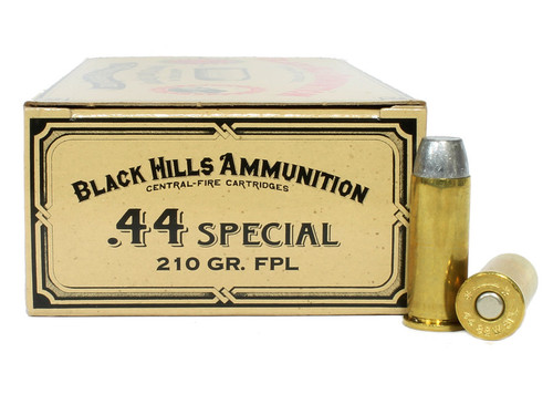 Surplus Ammo | Surplusammo.com 44 Special 210 Grain FPL Black Hills Cowboy Action Ammunition