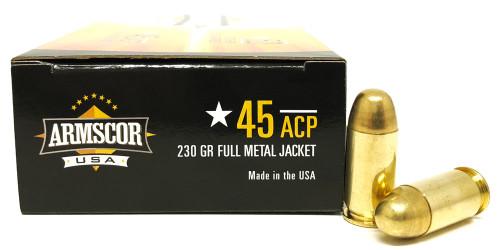 45 ACP 230 Grain FMJ Armscor USA F AC 45A-12N