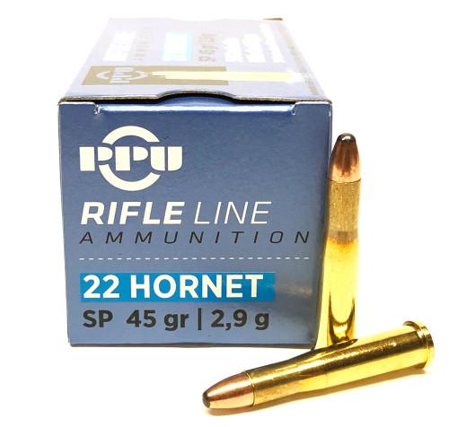 .22 Hornet 45 Grain SP Prvi Partizan PP22H