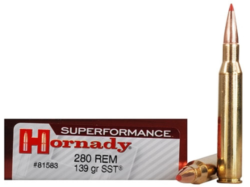 Surplus Ammo .280 Remington 139 Grain SST Hornady SUPERFORMANCE