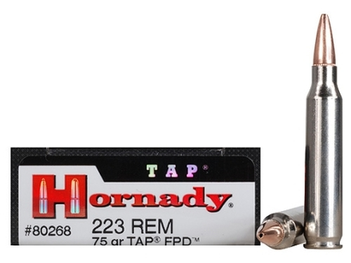 .223 75 Grain TAP JHP Hornady TAP Personal Defense - 20 Rounds