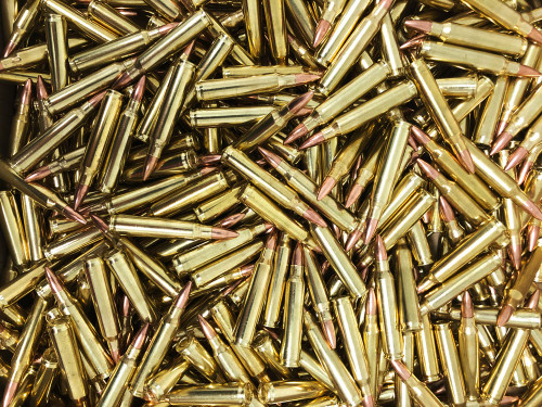 .223 55 Grain FMJ SAA - 500 Rounds, NEW, Bulk SA223N