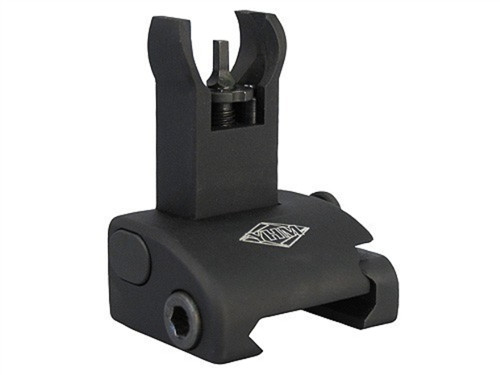 Yankee Hill Q.D.S. Same Plane Front Flip Up Sight Hooded