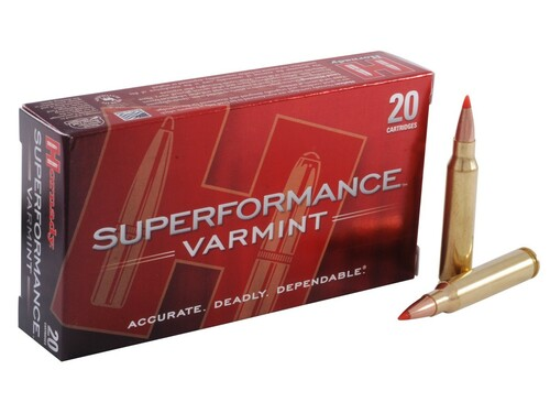 Surplus Ammo .223 53 Grain V-Max Hornady Superformance Varmint