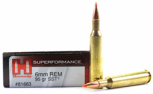 6mm Rem 95 Grain SST Hornady SUPERFORMANCE HO81663