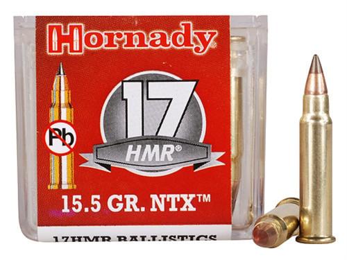 Surplusammo.com 17 Hornady Magnum Rimfire (HMR)  15.5 Grain NTX Hornady  (HO83171)