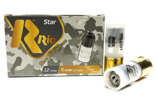 "12 Gauge Rio Royal Star Rifled Slugs 2 3/4"" RSL12 RIRSL12"