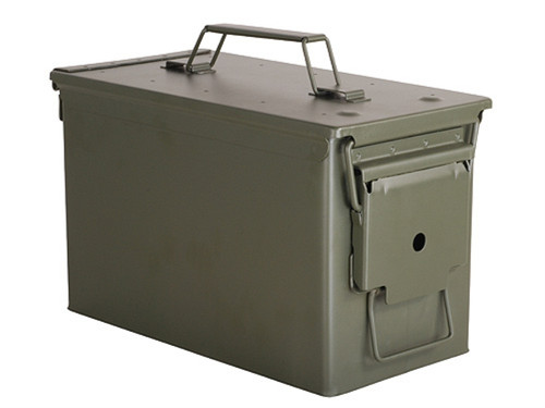 .50 Caliber NEW M2A1 Mil-Spec Ammo Can - Lockable, Steel