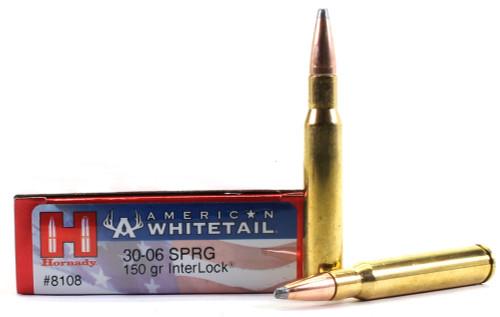 Surplus Ammo .30-06 150 Grain Interlock SP Hornady American Whitetail