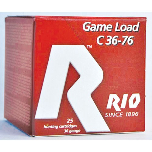 """.410 Gauge Rio 3"""" #4 Heavy Field Game Load - 25 Rounds"""