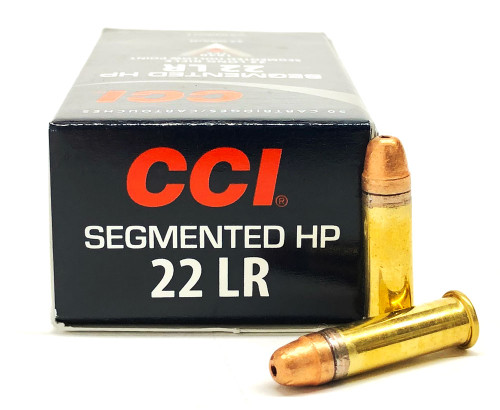 22 LR CCI Segmented HP 32 Grain Copper Plated Hollow Point CC0064