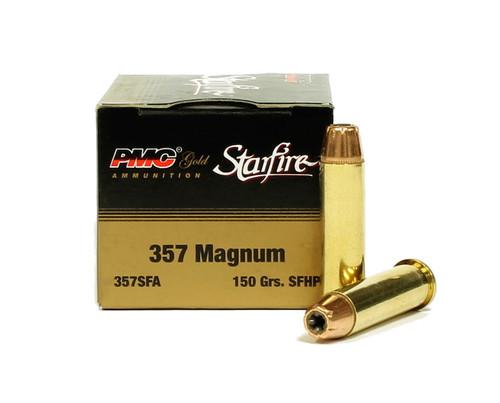 Surplus Ammo   Surplusammo.com 357 Magnum 150 Gr SFHP PMC Gold Starfire