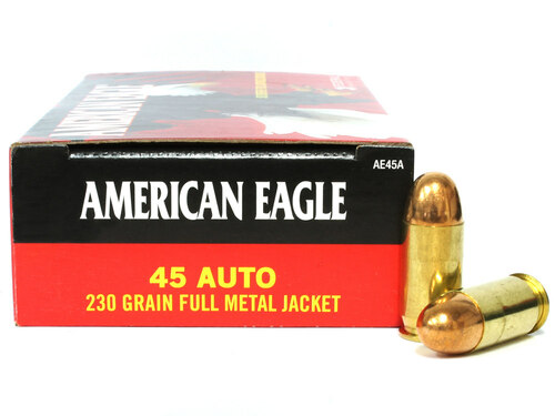 Surplus Ammo   Surplusammo.com 45 ACP 230 Grain FMJ Federal American Eagle Ammunition