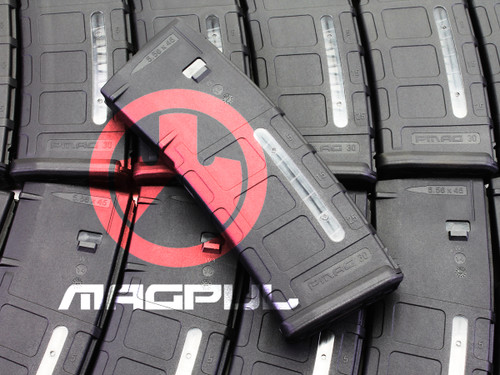 Surplusammo.com   Surplus Ammo Magpul PMAG M2 MOE 30 Round Window 5.56x45 AR15/M16 Magazine - Black MAG570-BLK