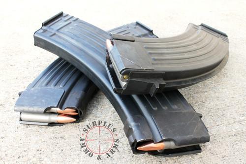 Romanian AK47 Magazine 30 Round, Steel 7.62x39 Surplus