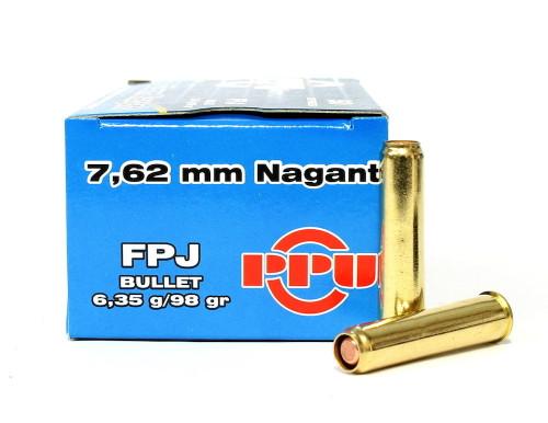 Surplus Ammo | Surplusammo.com 7.62 Nagant 98 Gr Flat Point Jacket Prvi Partizan Ammunition