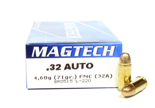 Surplus Ammo | Surplusammo.com 32 Auto 71 Grain FMC Magtech Ammunition