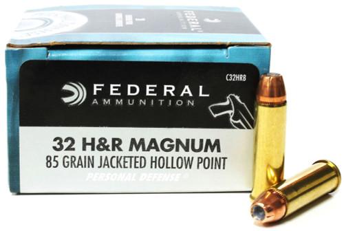 32 H&R Magnum 85 Grain JHP Federal Personal Defense FDC32HRB