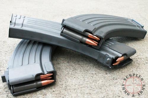Korean AK47 Rifle Magazine 30 round Steel surplus ammo