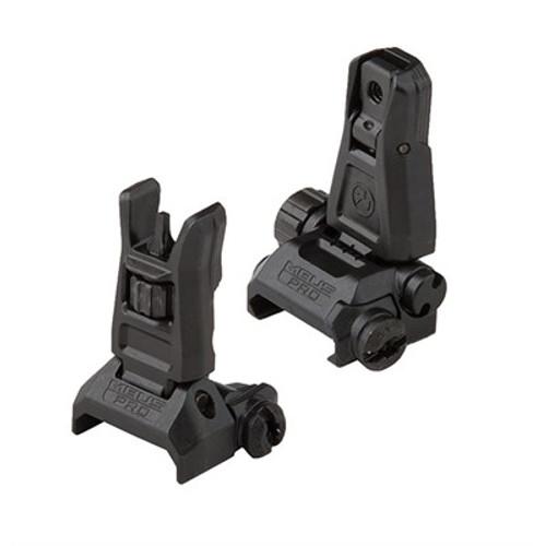 Magpul MBUS PRO Front & Rear Sight Set MAG275 & MAG276 MAG275/276